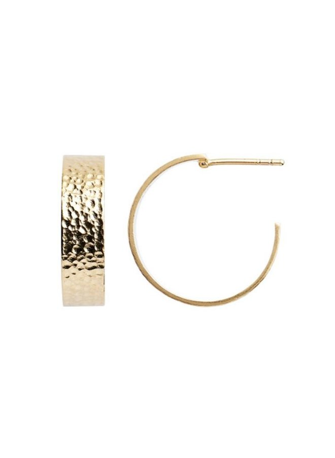 Stine A: Big La Mer Creol Earring Gold