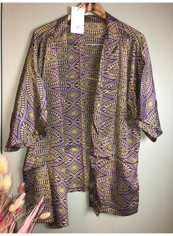 Sissel Edelbo Lotus Short Kimono Mix Nr. 41