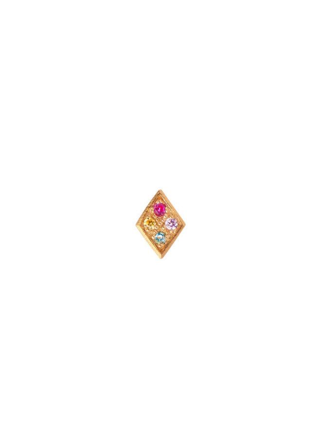 Stine A: Petit Candy Harlekin Earring Gold