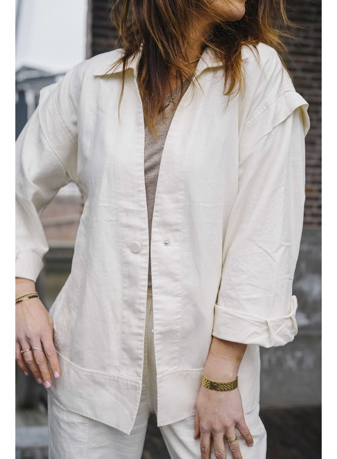 Second Female Selene New Jacket White Swan