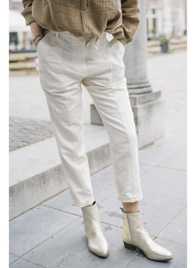 Second Female Selene New Track Trousers White Swan