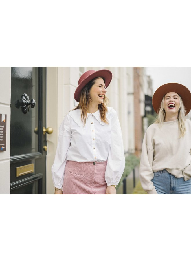 Just Female Ease Frill Shirt