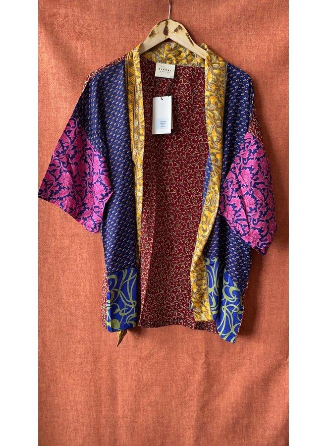 Sissel Edelbo Lotus Short Kimono Mix Nr. 49