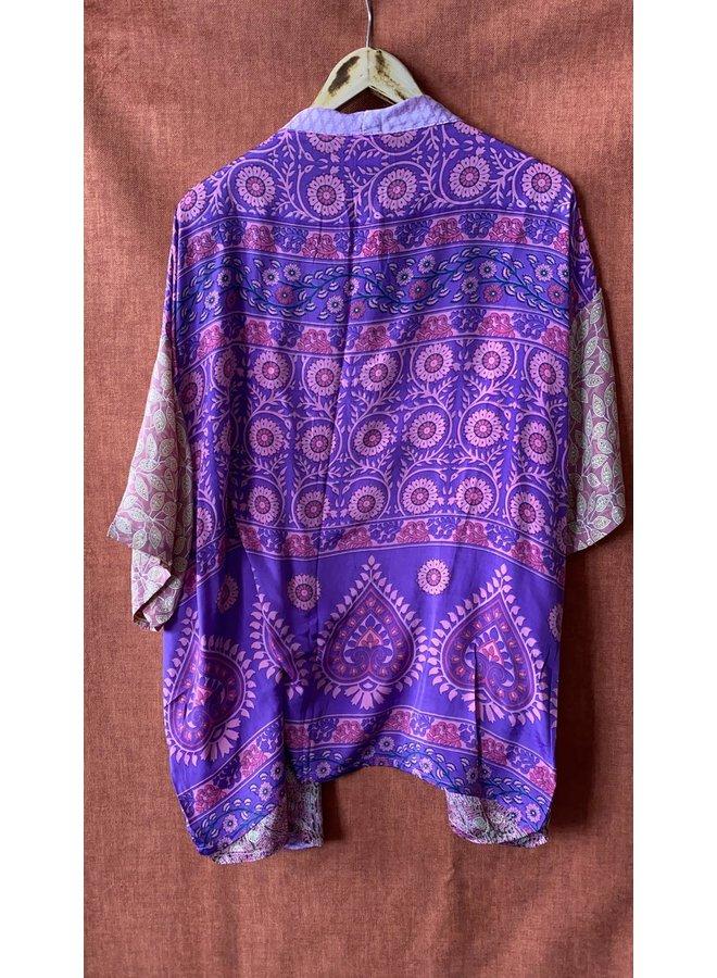 Sissel Edelbo Lotus Short Kimono Mix Nr. 50