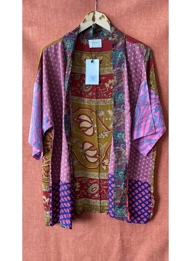 Sissel Edelbo Lotus Short Kimono Mix Nr. 51
