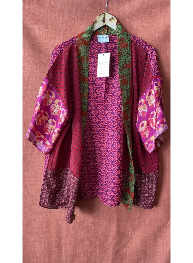 Sissel Edelbo Lotus Short Kimono Mix Nr. 52