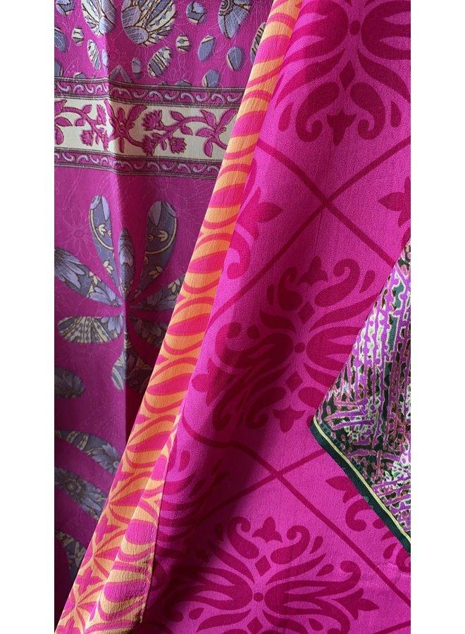 Sissel Edelbo Lotus Short Kimono Mix Nr. 53