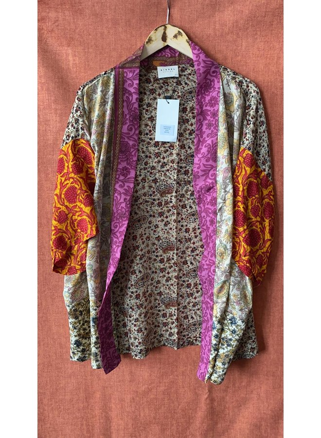 Sissel Edelbo Lotus Short Kimono Mix Nr. 55