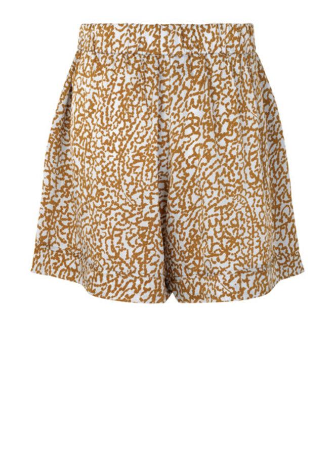 Second Female Granada Shorts Bronze Brown