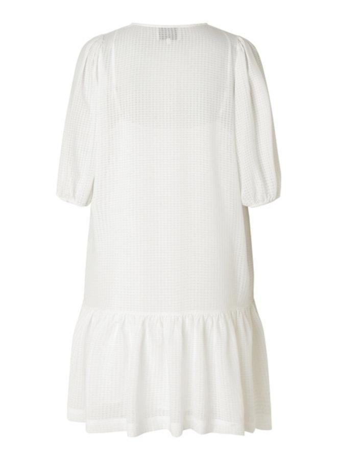Second Female Tara Dress  Bright White