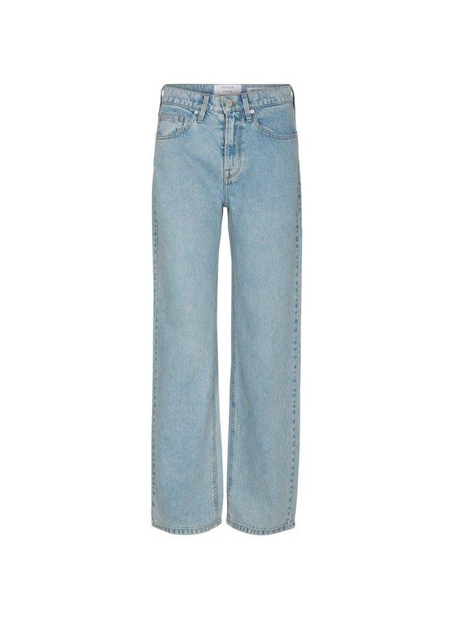Pieszak Birkin Straight Jeans Wash Puerto Banus Denim Blue