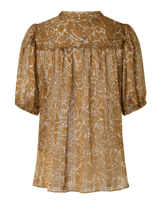 Second Female Fijito Shirt Bronze Brown
