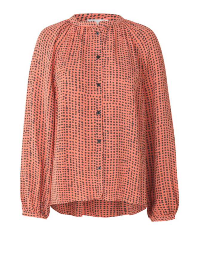 Second Female Maine Shirt Crabapple