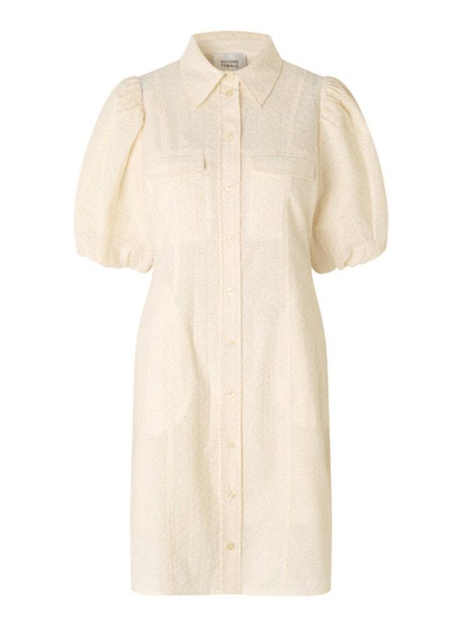 Second Female Bilbao Mini Dress Parchment