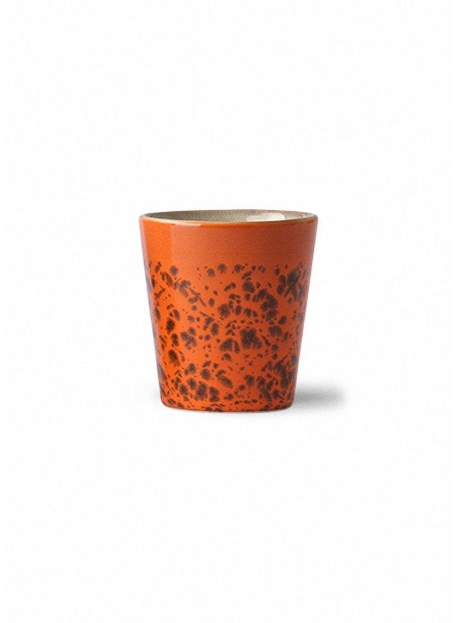 HK Living 70s ceramics Ristretto Mug - Panther