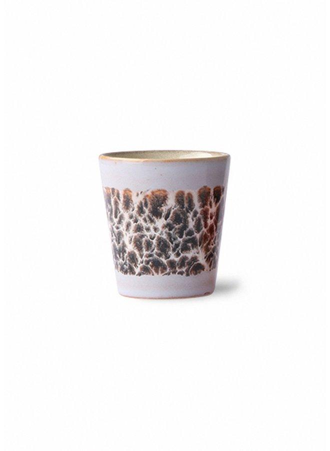 HK Living 70s ceramics Ristretto Mug - Birch