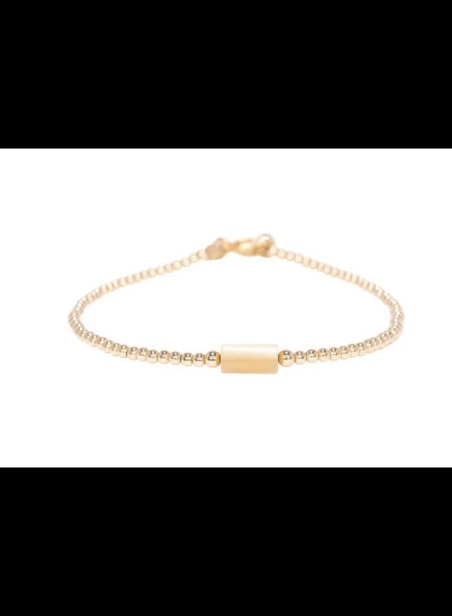 Miab armband goud - Tube Nude