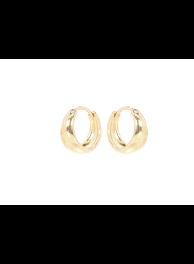 Miab oorbellen goud - Bold Click