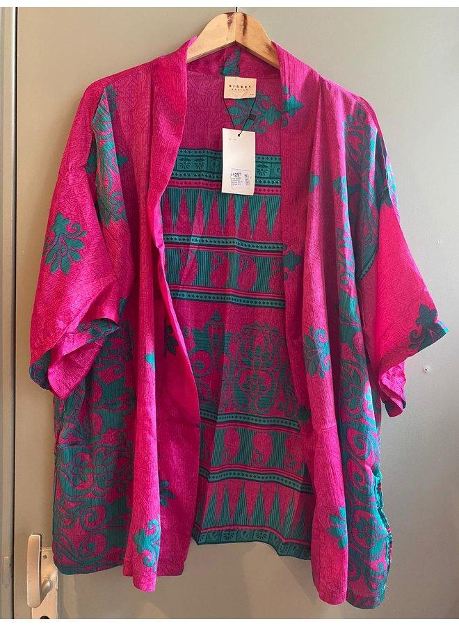 Sissel Edelbo Lotus Short Kimono Mix Nr. 60