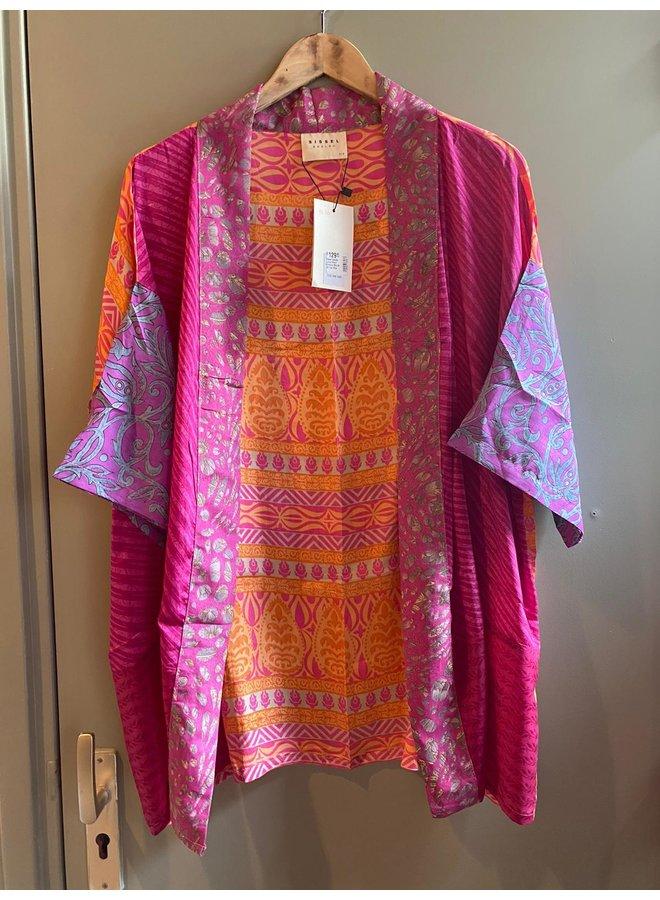 Sissel Edelbo Lotus Short Kimono Mix Nr. 66
