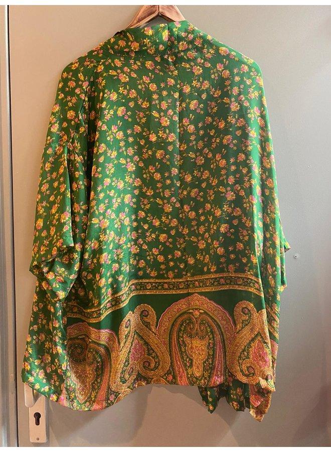 Sissel Edelbo Lotus Short Kimono Mix Nr. 75