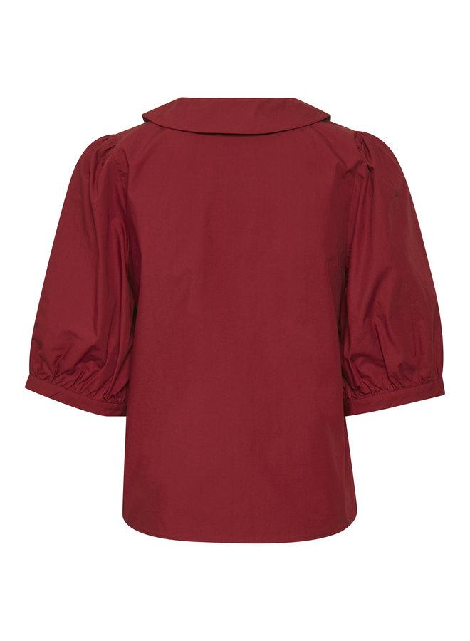 Gestuz Briet Shirt Red Rhubarb