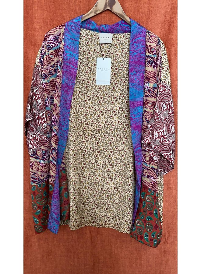 Sissel Edelbo Lotus Short Kimono Mix Nr. 77