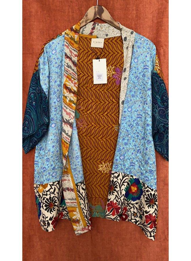 Sissel Edelbo Lotus Short Kimono Mix Nr. 81