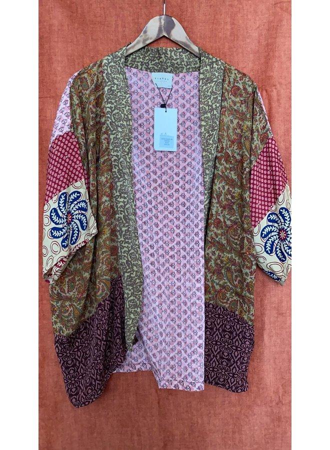 Sissel Edelbo Lotus Short Kimono Mix Nr. 82