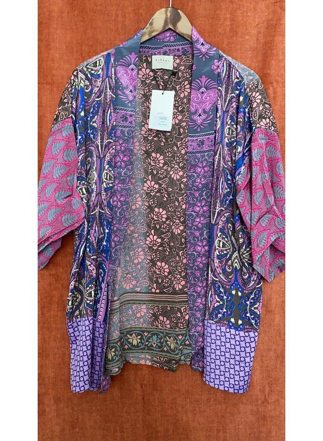 Sissel Edelbo Lotus Short Kimono Mix Nr. 83