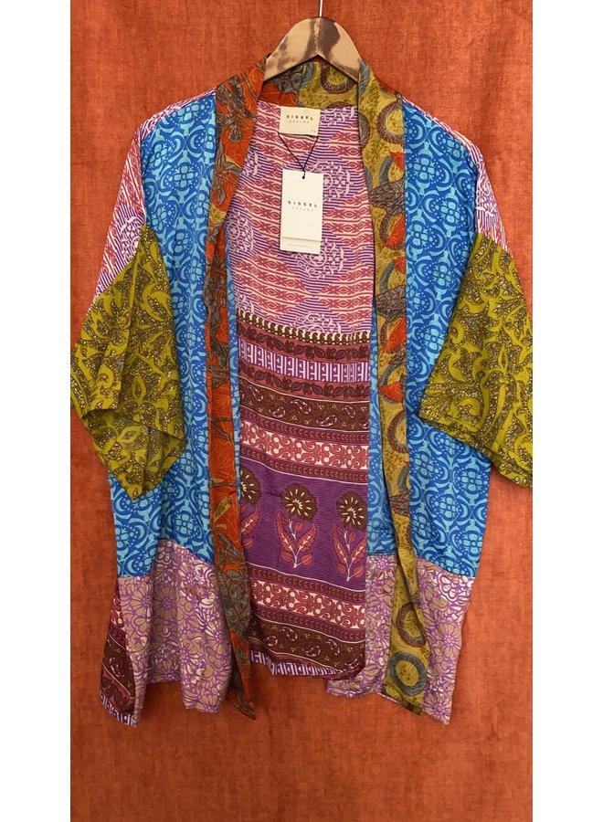 Sissel Edelbo Lotus Short Kimono Mix Nr. 86