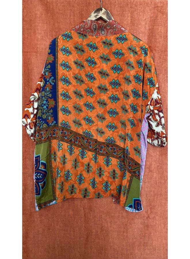 Sissel Edelbo Lotus Short Kimono Mix Nr. 90