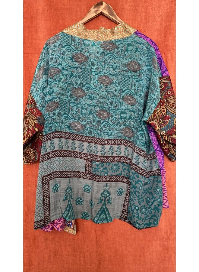 Sissel Edelbo Lotus Short Kimono Mix Nr. 87