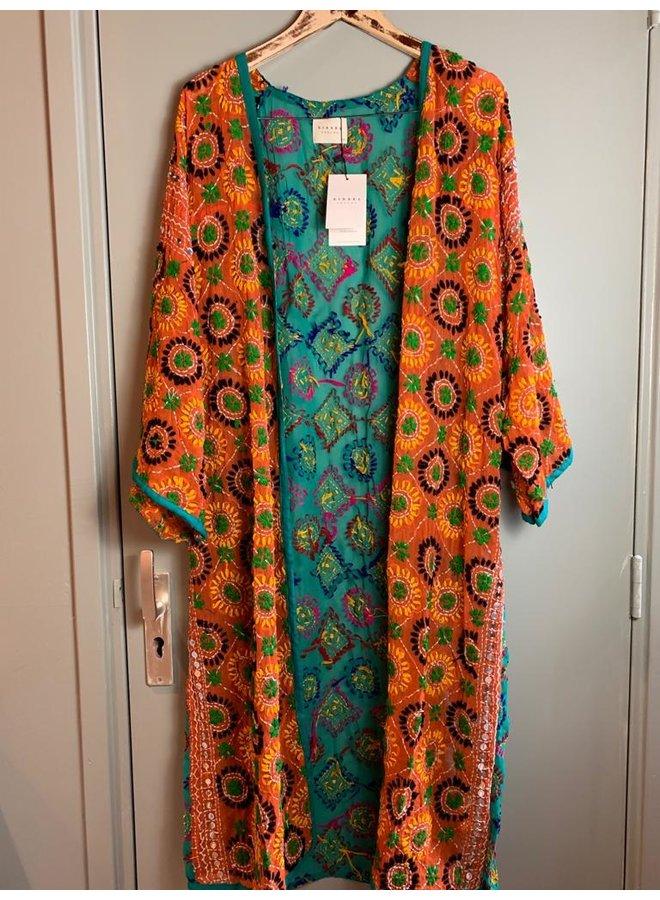 Sissel Edelbo Chennai Embroidery Long Kimono nr. 2