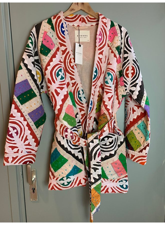 Sissel Edelbo Marrakesh Patchwork Jacket nr. 21