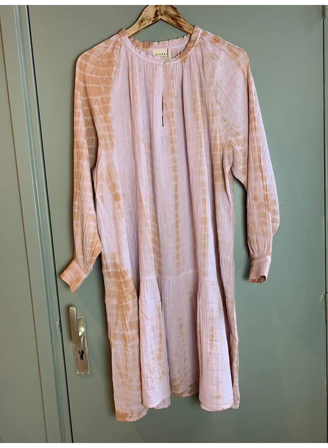 Sissel Edelbo Manila Organic Cotton Short Tie Dye Dress - Lavender
