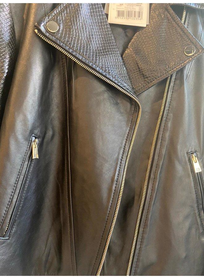 Depeche Biker Jacket Black