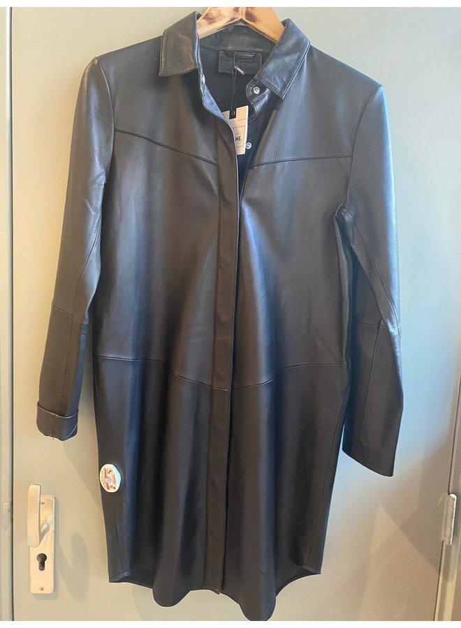 Depeche Leather Dress/ Blouse