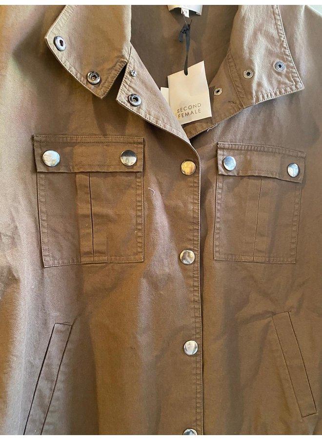 Second Female Sage jacket Groen