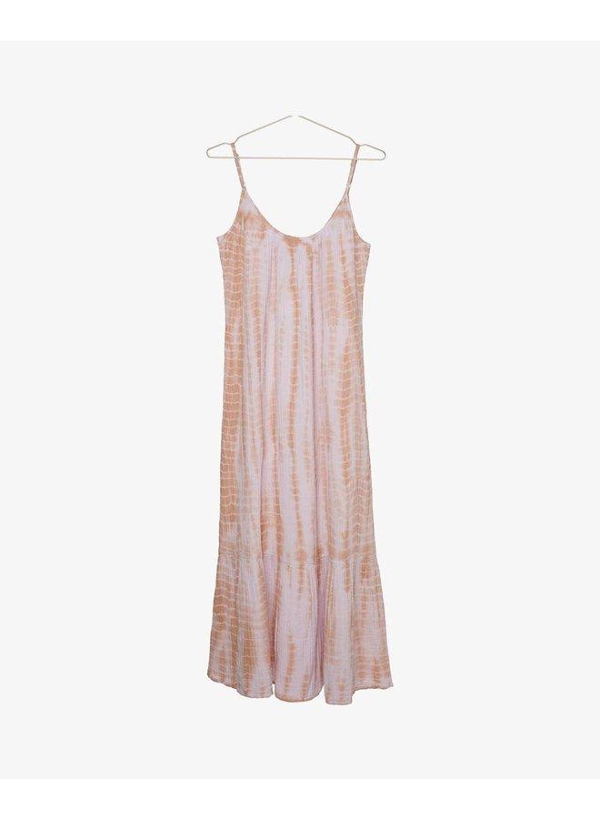 Sissel Edelbo Delhi Organic Cotton Tie Strap Dress - Lavender One Size