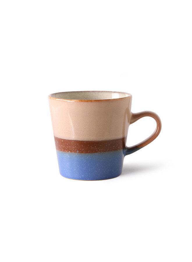 HK Living 70s ceramics Americano Mug - Pool