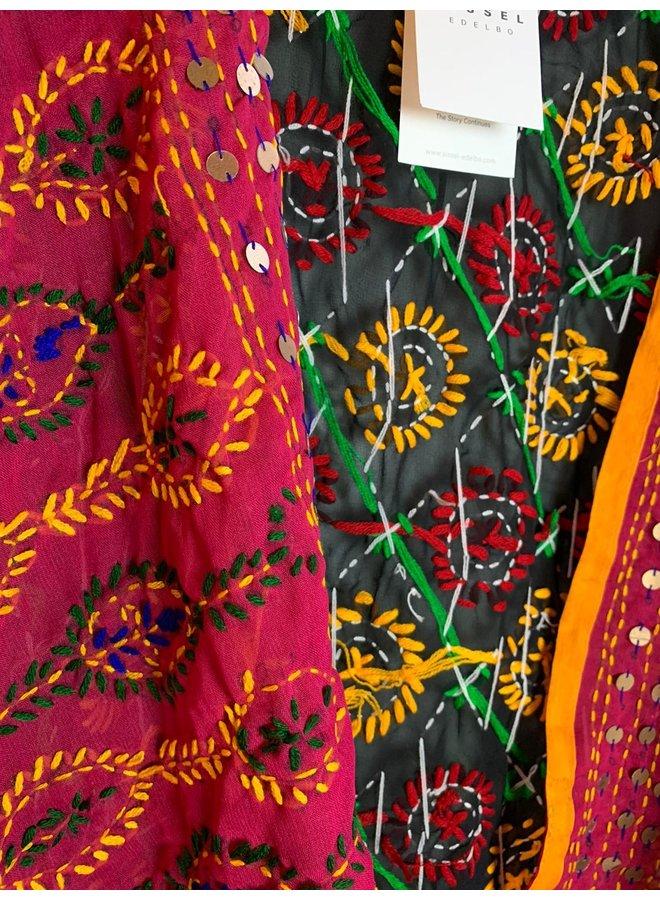Sissel Edelbo Chennai Embroidery Short Kimono nr. 9