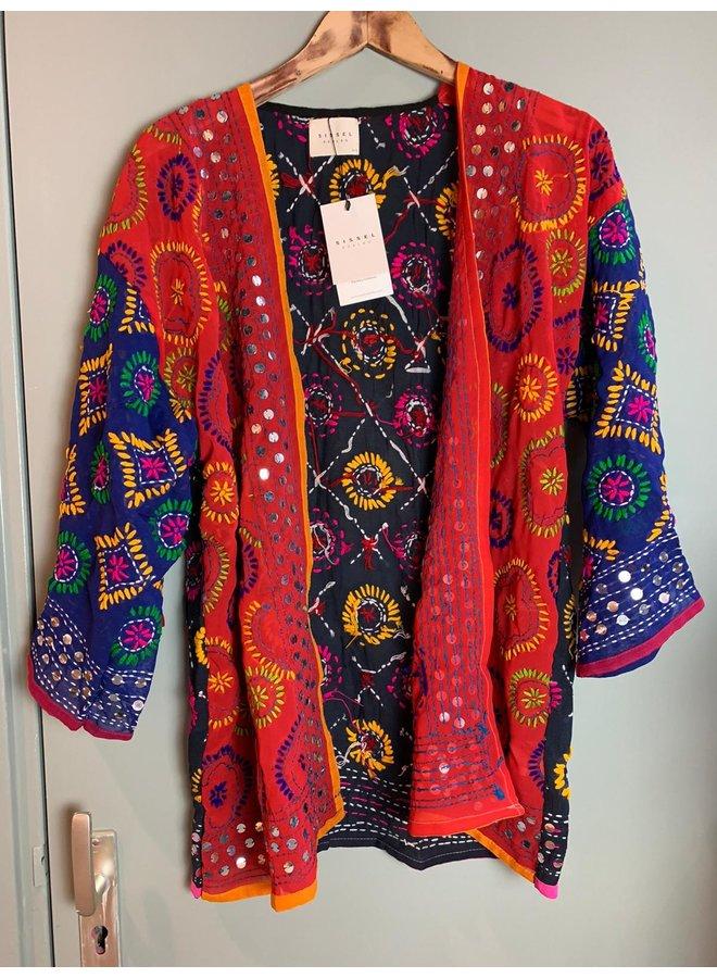 Sissel Edelbo Chennai Embroidery Short Kimono nr. 11