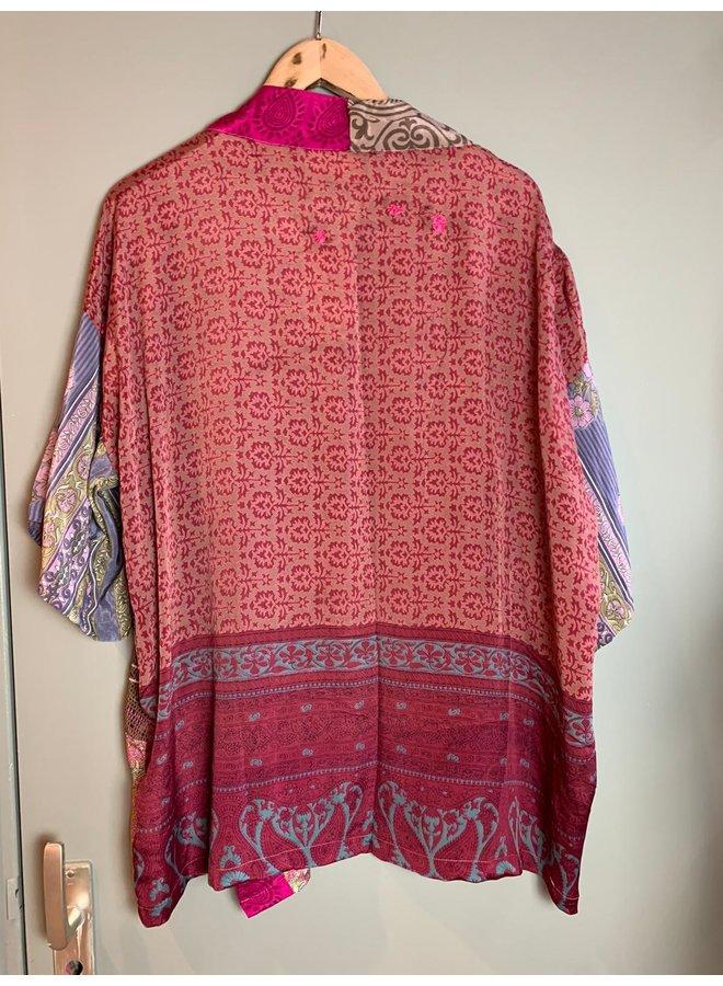 Sissel Edelbo Lotus Short Kimono Mix Nr. 96