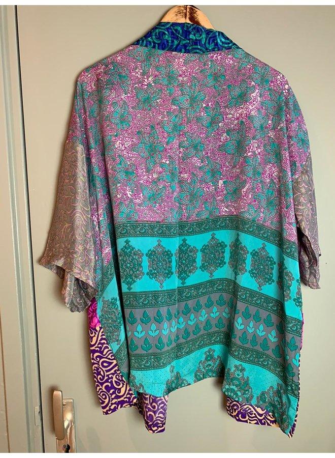 Sissel Edelbo Lotus Short Kimono Mix Nr. 106