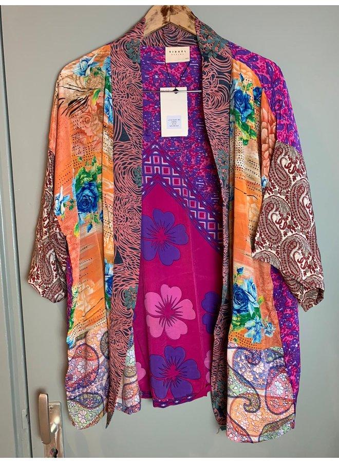 Sissel Edelbo Lotus Short Kimono Mix Nr. 107