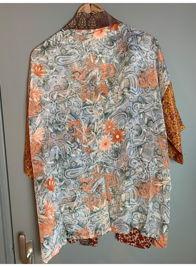 Sissel Edelbo Lotus Short Kimono Mix Nr. 102