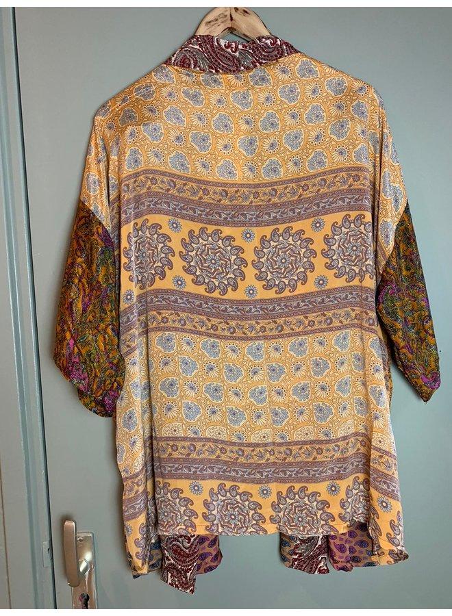 Sissel Edelbo Lotus Short Kimono Mix Nr. 101