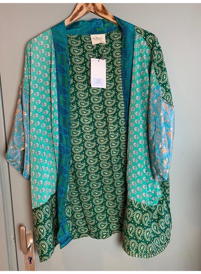 Sissel Edelbo Lotus Short Kimono Mix Nr. 103