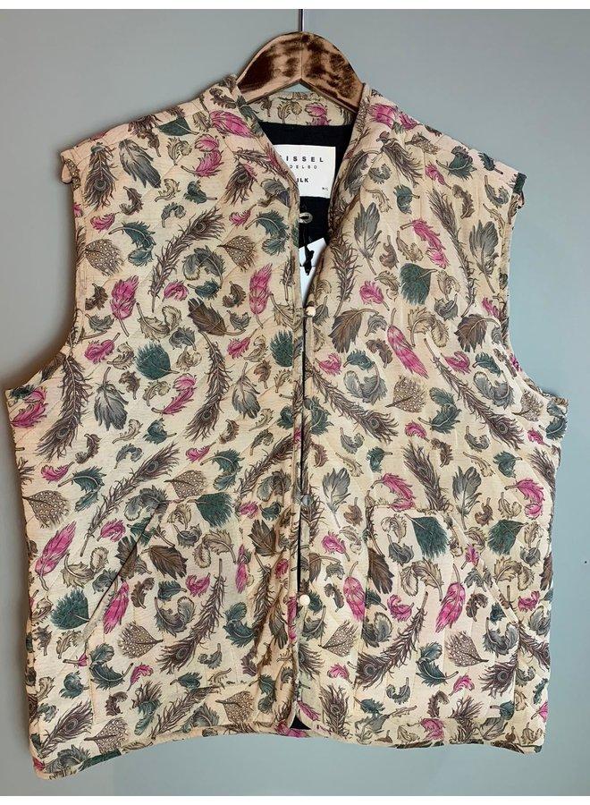 Sissel Edelbo Milla Quilted Silk Waistcoat nr. 58 M/L